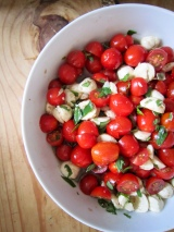 Tomato Mozzarella Salad & The Moment I've Been Working Towards